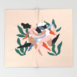 Take time to dance Throw Blanket