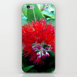 Liko Lehua - Budding Lehua Blossom iPhone Skin