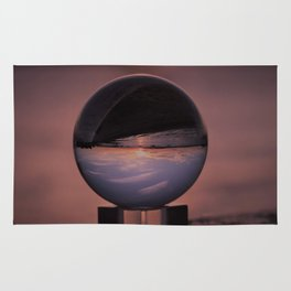 Wispy Clouds In A Crystal Ball Rug