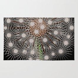 Abstract Dandilion Seeds Rug