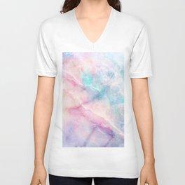 Iridescent marble Unisex V-Neck