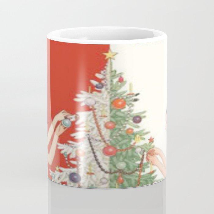 Art Nouvelle Christmas Coffee Mug