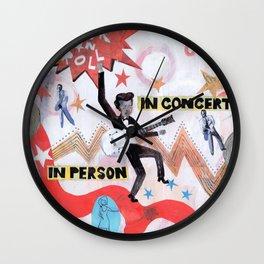 Rock & Roll! Wall Clock