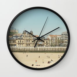 The City Hall and The Beach Wall Clock