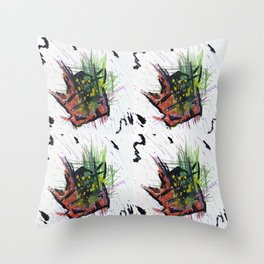 Concentrated Mass Throw Pillow