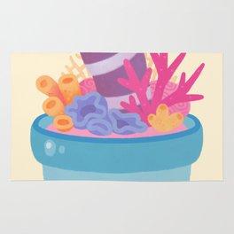 Eel flower pot 2 Rug