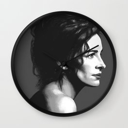 Julia Roberts Portrait Wall Clock