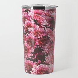 Chrysanthemum Autumn Flowers Photography Travel Mug