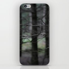 Clawing branches iPhone Skin