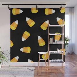 Candy Corn Wall Mural