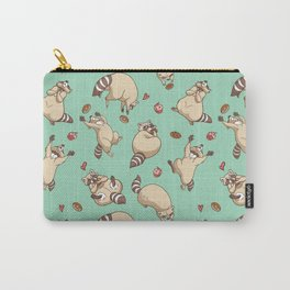 Raccoons Love Carry-All Pouch