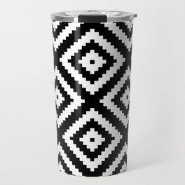 Tribal B&W Travel Mug