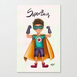 Superboy Canvas Print