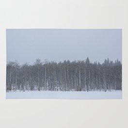 Winter Aspens Rug