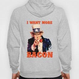 I want more bacon Hoody