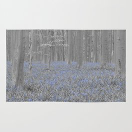 Blue Hyacints Rug