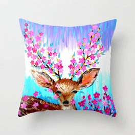 Freedom and Fresh Possibilities Throw Pillow