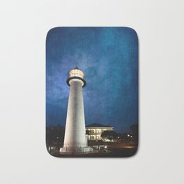 Lighthouse Blues Bath Mat