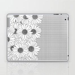 Daisy Grid on Side Laptop & iPad Skin