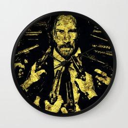 John Wick - The Legend Wall Clock