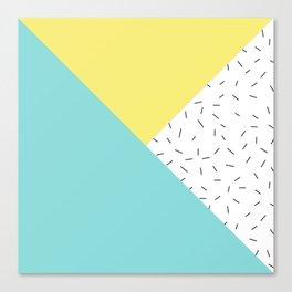 Geometry love Canvas Print