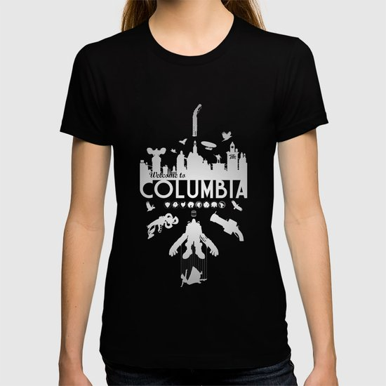 welcome to columbia bioshock infinite variant t shirt by s2lart