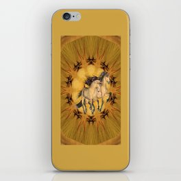 HORSES - The Buckskins iPhone Skin