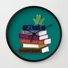 Summer Reading List: Wizard Edition Wall Clock