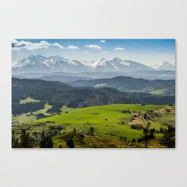 Tatry Poland Landscape Canvas Print