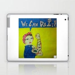 Modern Rosie the Riveter Laptop & iPad Skin