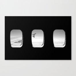 Window Seat Sky View Canvas Print