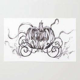 Bibbidi Bobbidi BOO! Inktober Drawing Rug