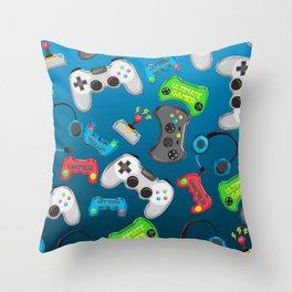 Video Games Throw Pillow