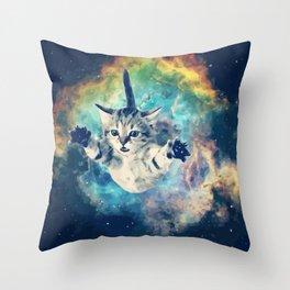 COSMO CAT Throw Pillow