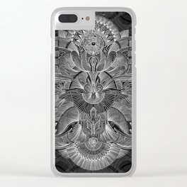 Etched Offering II Clear iPhone Case