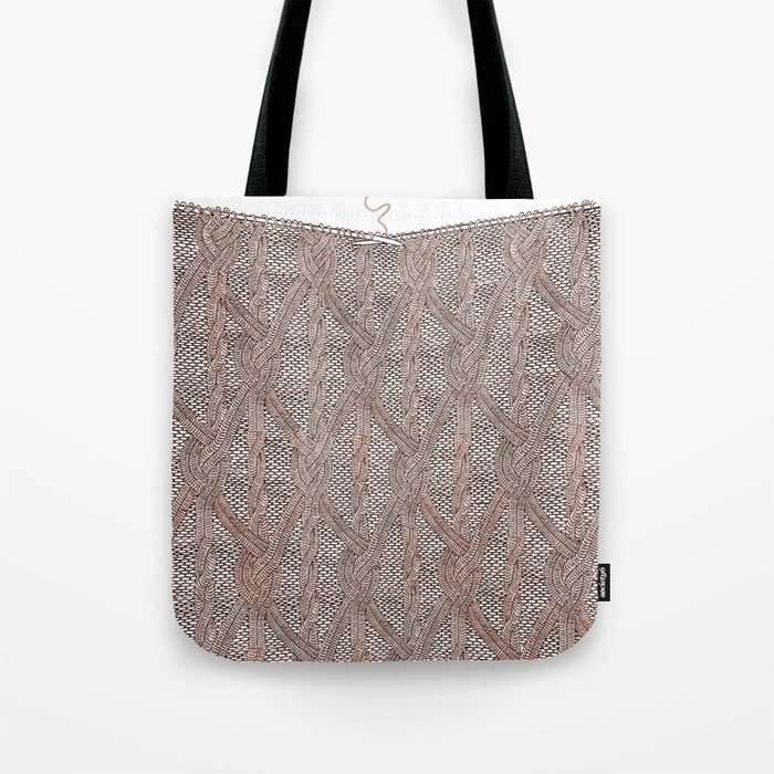 Knitting experience Tote Bag