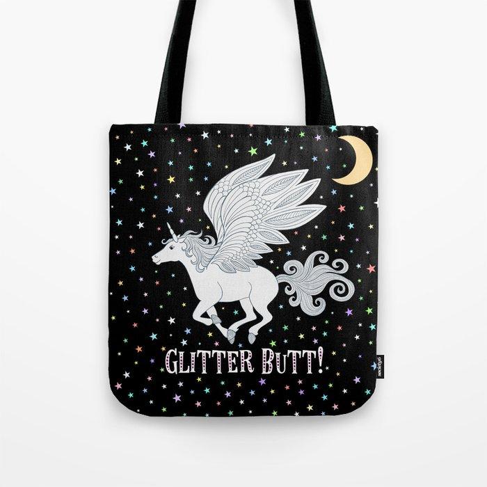 Glitter Butt! Tote Bag