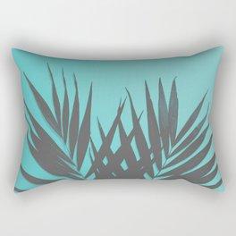 Palm Leaves #1 #Mint #decor #art #society6 Rectangular Pillow
