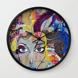 Scary Posh Spice Wall Clock