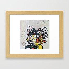 Just Peace Framed Art Print