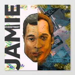 Jamie x Jamie Canvas Print