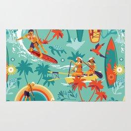 Hawaiian resort Rug