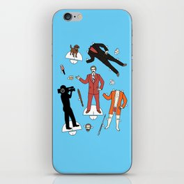 Cut It Out: Ron Burgundy iPhone Skin