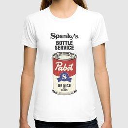 Spanky's Bottle Service!  T-shirt