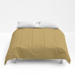 Basic Color Series - Mustard Yellow Comforters