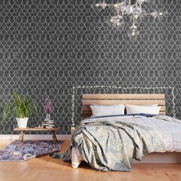 Grey chalk roof tiles Wallpaper
