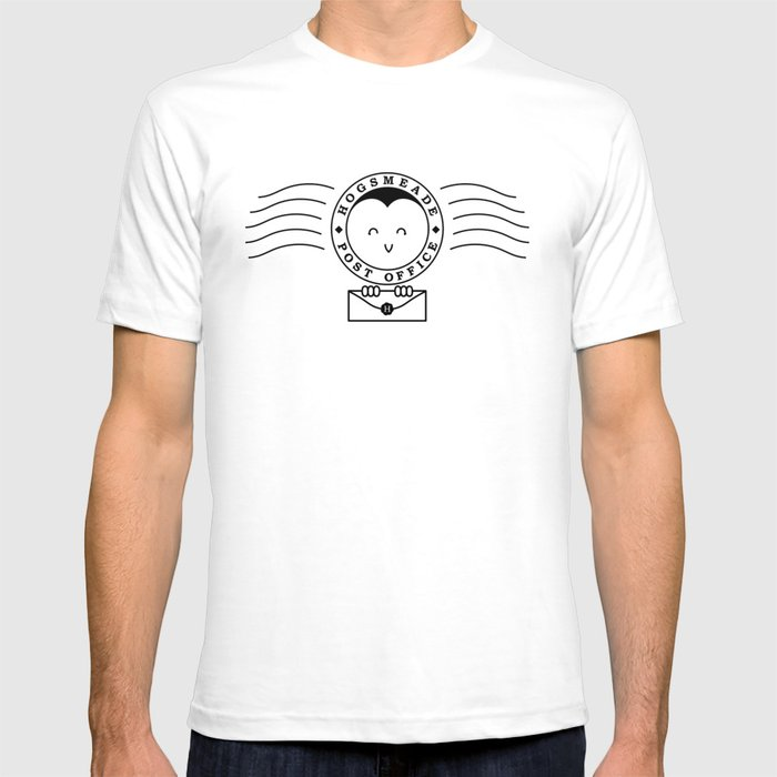 Cute Hogsmeade Post Office Stamp T-shirt