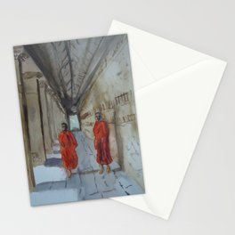 Monk Business Stationery Cards