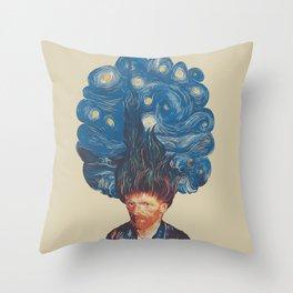 de hairednacht Throw Pillow