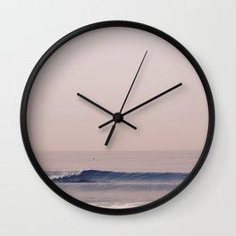 Morning Waves Wall Clock